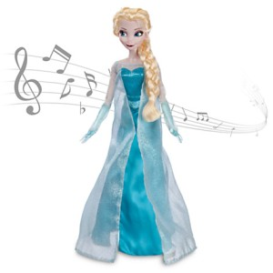 Singing Elsa doll. £25 from The Disney Store UK.