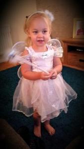 Penny as a fairy