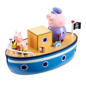 The offending Peppa Pig boat.